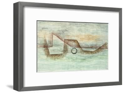 Flooding; Uberflutung-Paul Klee-Framed Giclee Print