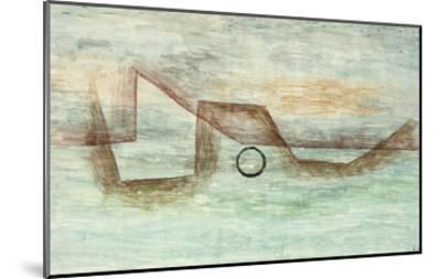 Flooding; Uberflutung-Paul Klee-Mounted Giclee Print