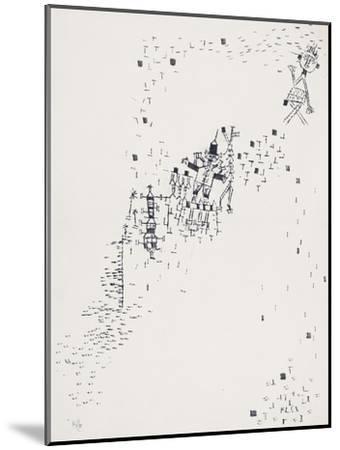 Astray; Verirrte-Paul Klee-Mounted Giclee Print