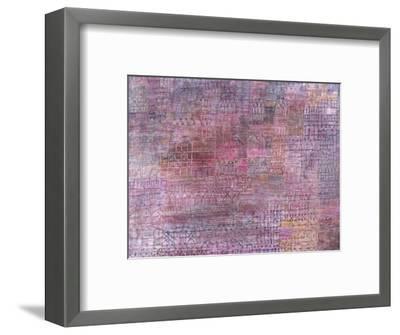 Cathedrals; Kathedralen-Paul Klee-Framed Premium Giclee Print