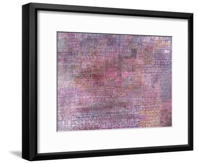 Cathedrals; Kathedralen-Paul Klee-Framed Giclee Print