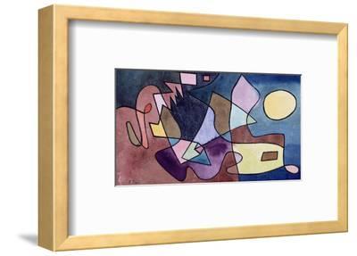 Dramatic Landscape; Dramatische Landschaft-Paul Klee-Framed Premium Giclee Print