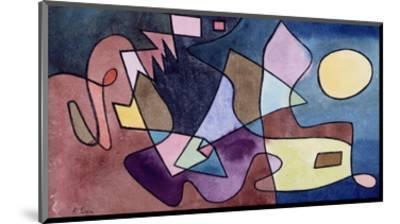 Dramatic Landscape; Dramatische Landschaft-Paul Klee-Mounted Premium Giclee Print