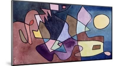 Dramatic Landscape; Dramatische Landschaft-Paul Klee-Mounted Giclee Print