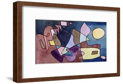 Dramatic Landscape; Dramatische Landschaft-Paul Klee-Framed Giclee Print