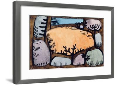 The Day in the Forest; Der Tag Im Wald-Paul Klee-Framed Giclee Print