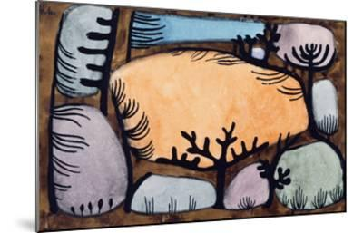 The Day in the Forest; Der Tag Im Wald-Paul Klee-Mounted Giclee Print