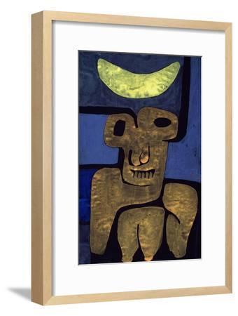 Moon of the Barbarians; Luna Der Barbaren-Paul Klee-Framed Premium Giclee Print