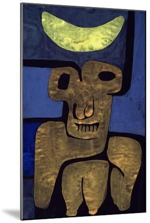 Moon of the Barbarians; Luna Der Barbaren-Paul Klee-Mounted Premium Giclee Print