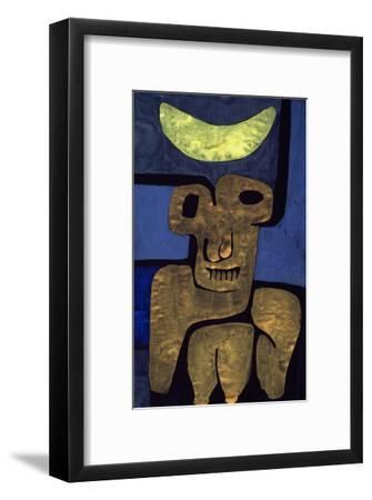 Moon of the Barbarians; Luna Der Barbaren-Paul Klee-Framed Giclee Print