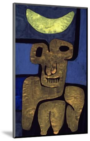Moon of the Barbarians; Luna Der Barbaren-Paul Klee-Mounted Giclee Print