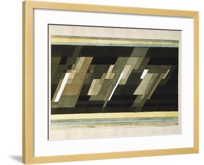 Diagonal-Medien-Paul Klee-Framed Giclee Print