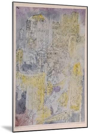 Gothic Rococo; Gotisches Rococo-Paul Klee-Mounted Giclee Print
