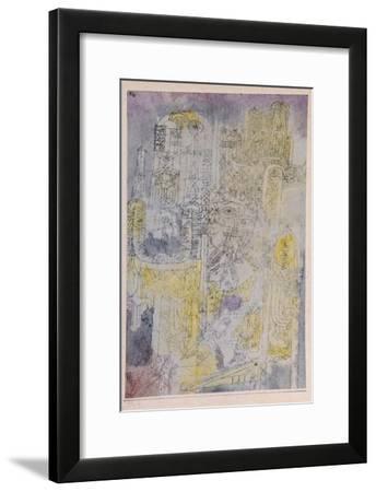 Gothic Rococo; Gotisches Rococo-Paul Klee-Framed Giclee Print