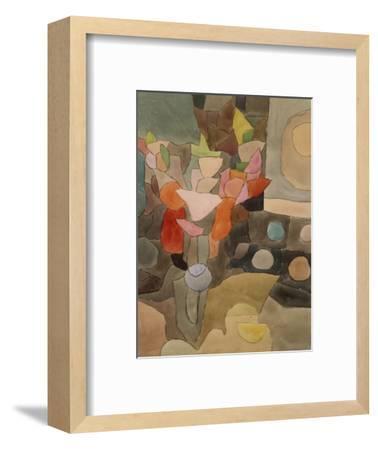 Still Life with Gladioli; Gladiolen Still Leben-Paul Klee-Framed Premium Giclee Print