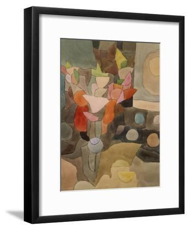 Still Life with Gladioli; Gladiolen Still Leben-Paul Klee-Framed Giclee Print