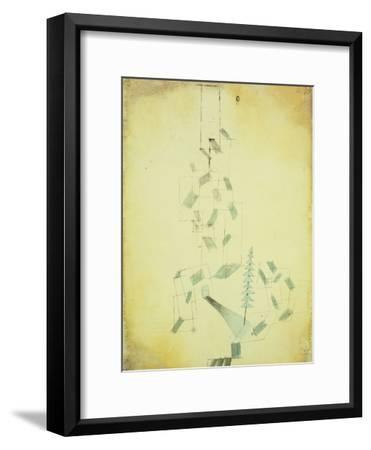 Bau Am Bach-Paul Klee-Framed Giclee Print