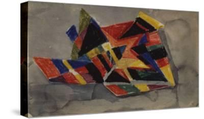 Angular Forms; Winklige Formen-Auguste Macke-Stretched Canvas Print
