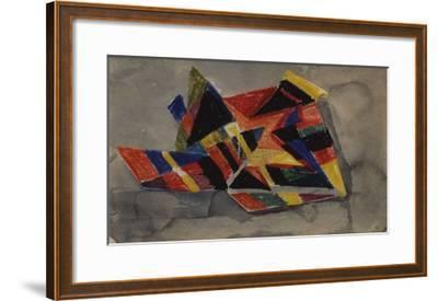 Angular Forms; Winklige Formen-Auguste Macke-Framed Giclee Print