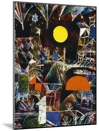 Moonrise - Sunset; Mondauf - Sonnenuntergang-Paul Klee-Mounted Giclee Print