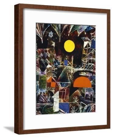 Moonrise - Sunset; Mondauf - Sonnenuntergang-Paul Klee-Framed Giclee Print