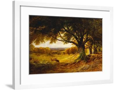 Spithead, Uppark, Sussex-George Cole-Framed Giclee Print