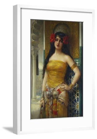 The Favourite of the Harem-Leon Francois Comerre-Framed Giclee Print