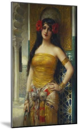 The Favourite of the Harem-Leon Francois Comerre-Mounted Giclee Print