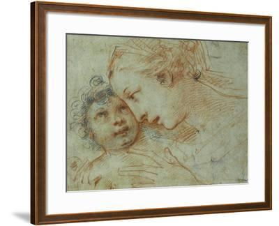 The Madonna and Child-Carlo Francesco Nuvolone-Framed Giclee Print