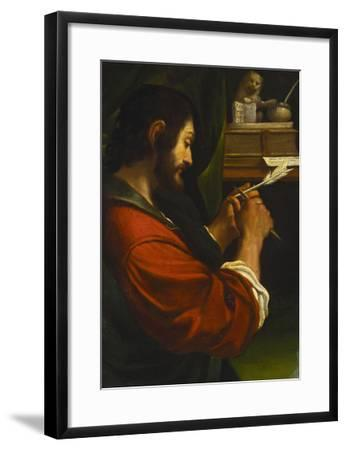 Saint Mark-Giovanni Francesco Barbieri (Studio of)-Framed Giclee Print
