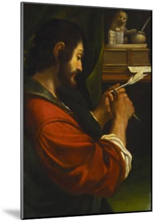 Saint Mark-Giovanni Francesco Barbieri (Studio of)-Mounted Giclee Print
