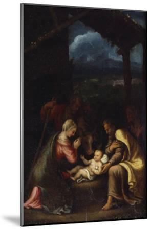 The Nativity-Giulio Romano-Mounted Giclee Print