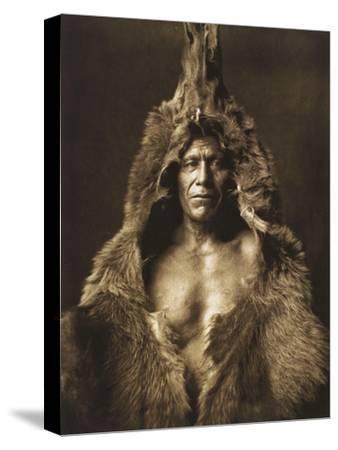 Bear's Belly-Arikara 1908-Edward S^ Curtis-Stretched Canvas Print