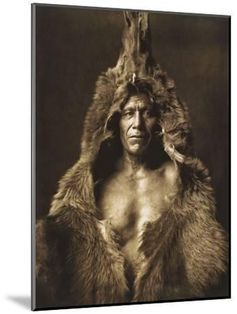 Bear's Belly-Arikara 1908-Edward S^ Curtis-Mounted Giclee Print