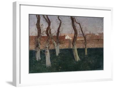 The Walled Garden-Fritz Thaulow-Framed Giclee Print