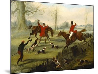 Setting Out-Sefferien Alken II-Mounted Giclee Print