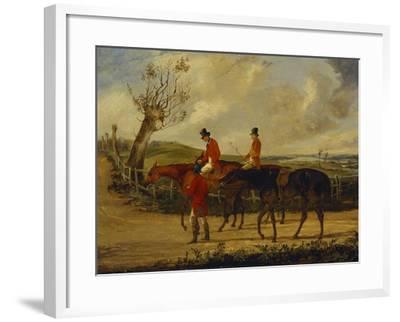 Going Home-Henry Thomas Alken-Framed Giclee Print