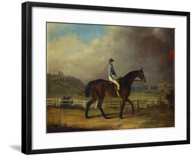 Mr. Hindley's Brown Filly 'Rosina' by 'Romulus' Ridden by the Owner on Lincoln Race Course-P. Ewbank-Framed Giclee Print