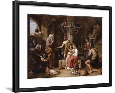 The Return of the Dove to the Ark-Charles Landseer-Framed Giclee Print