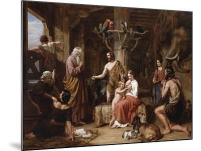 The Return of the Dove to the Ark-Charles Landseer-Mounted Giclee Print