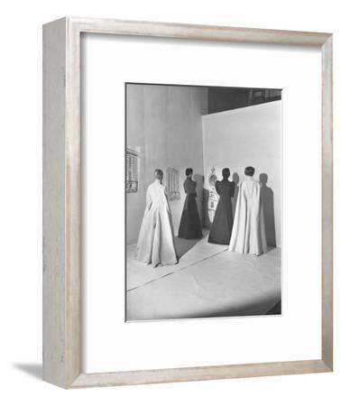 Vogue - November 1936-Cecil Beaton-Framed Premium Photographic Print