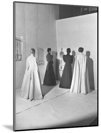 Vogue - November 1936-Cecil Beaton-Mounted Premium Photographic Print