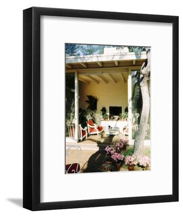 House & Garden - June 1949-Fred Lyon-Framed Premium Photographic Print