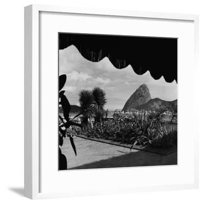House & Garden - August 1947-Luis Lemus-Framed Premium Photographic Print