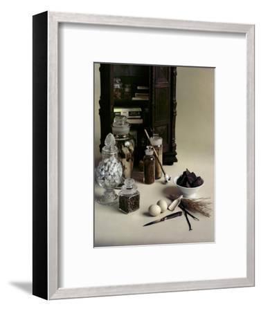 House & Garden - November 1955-Otto Maya-Framed Premium Photographic Print