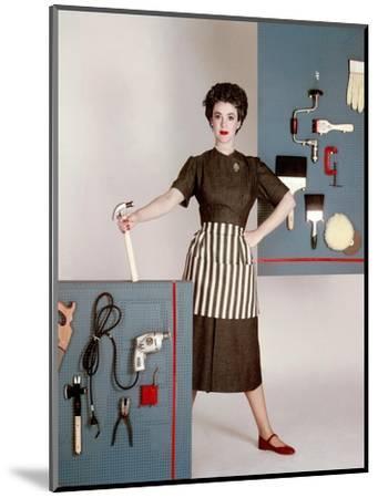 House & Garden - January 1952-Constantin Joff?-Mounted Premium Photographic Print