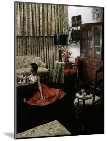 House & Garden - May 1949-Horst P. Horst-Mounted Premium Photographic Print