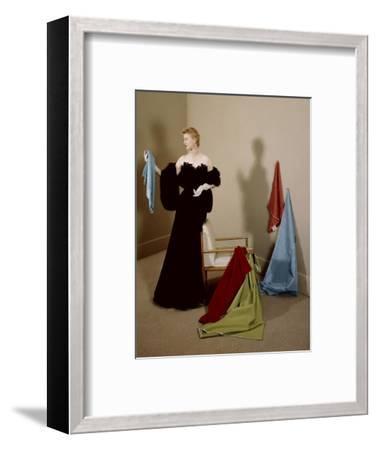 House & Garden - September 1950-Herbert Matter-Framed Premium Photographic Print