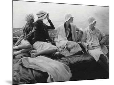 Vogue - July 1928 - Yachting-Edward Steichen-Mounted Premium Photographic Print
