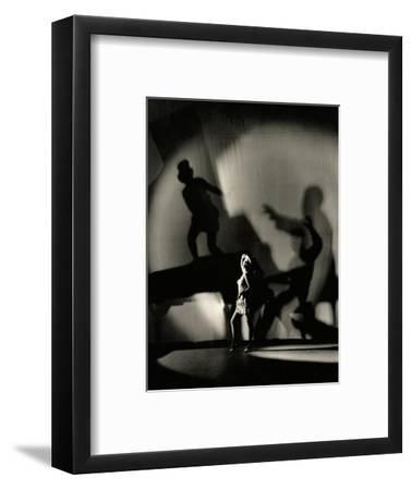 Vanity Fair - March 1930-Florence Vandamm-Framed Premium Photographic Print